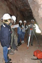 Estudiantes hicieron prácticas en la Mina Santa Bárbara