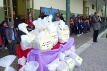 Alumnos de La Fray donaron juguetes a 17 escuelas