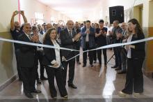 Se inauguraron nuevas aulas y una ampliación en la ENET N°1